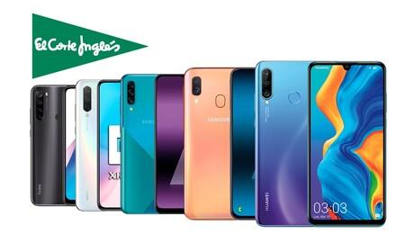 Huawei, OPPO, LG, Samsung, Xiaomi... 21 smartphones que puedes comprar más baratos en El Corte Inglés