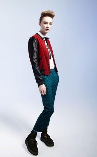 TopShop lookbook Otoño-Invierno 2011/2012: riesgo en la nueva ropa