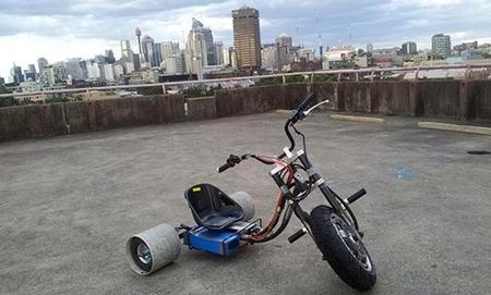 ¿Moto? ¿Triciclo? Es igual, diviértete con el Drift