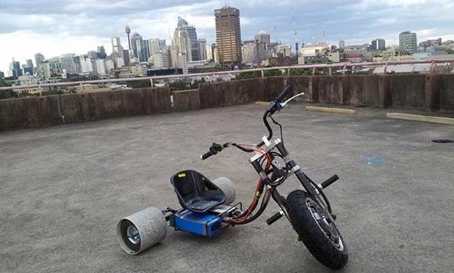 D3 drift trike