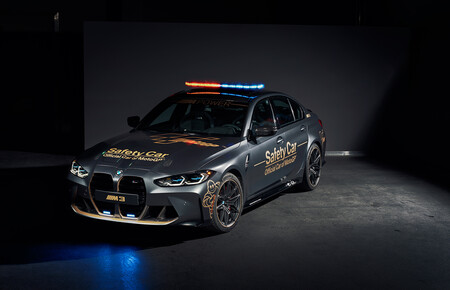 BMW M3 Competition Safety Car