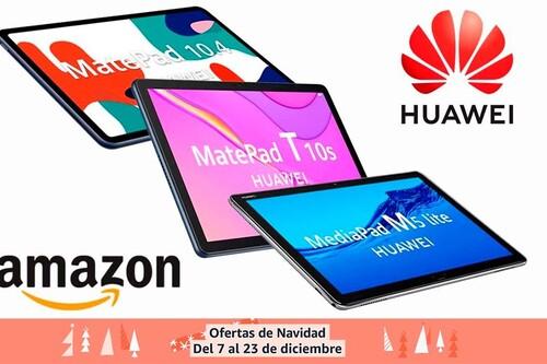 Más tablets de Huawei para regalar estas navidades: 7 modelos rebajados en las ofertas de Amazon