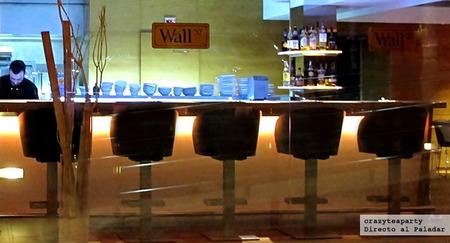 Restaurant Wall 57 o la primacía de la materia