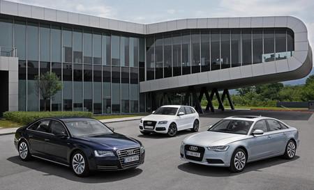 Gama de coches híbridos Audi: A6 Hybrid, A8 Hybrid y Q5 Hybrid