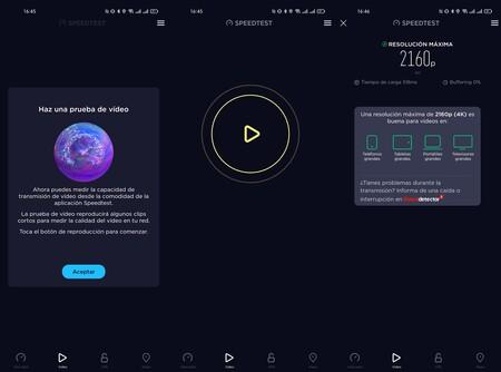 Prueba Video Speedtest