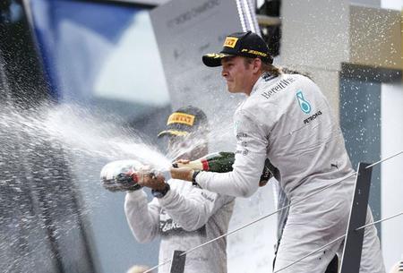 Nico Rosberg y Mercedes AMG vuelven a lo alto del podio en el Gran Premio de Austria