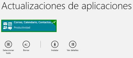Microsoft actualiza las aplicaciones de correo y calendario en Windows 8