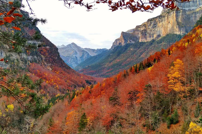 Citas para fotografiar el otoño: Parque Nacional de Ordesa y Monte Perdido, Huesca
