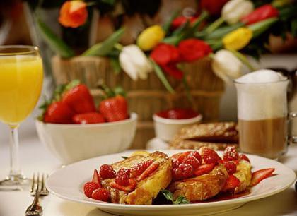 Más desayuno y menos cena