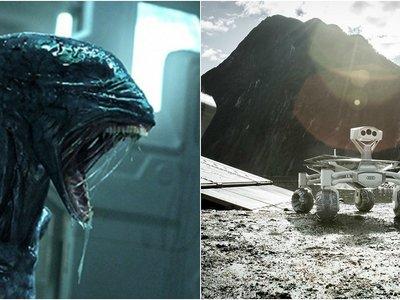 """Audi lunar quattro viajará a un planeta mucho más remoto que la luna en """"Alien: Covenant"""""""