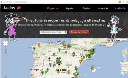 Ludus.org, directorio de pedagogía alternativa