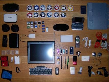 Imagen de la semana: ¿qué llevas en tu bolsa?