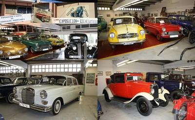 Un desguace vallisoletano guarda un tesoro automovilístico