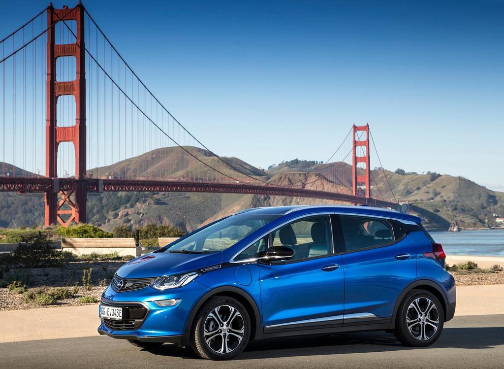 Opel Ampera E 2017 Azul catorce B