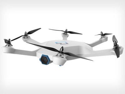 La creadora de Roomba pasa de aspiradoras a grabar vídeo desde las alturas con el dron CyPhy LVL 1