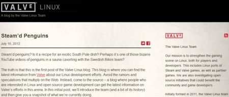 Valve confirma la llegada de Steam a Linux y abre un blog oficial para el equipo de desarrollo