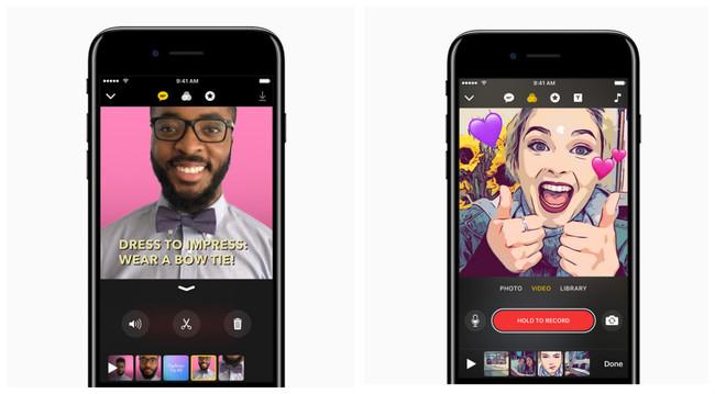 Apple presenta Clips, su propia versión de Snapchat e Instagram Stories