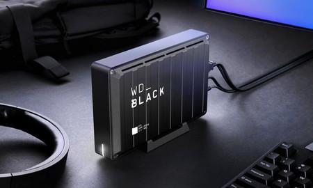 Western Digital trae a México su línea WD_Black D10: discos duros de hasta 12TB de almacenamiento diseñados para gamers
