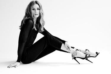 Olivia Palermo presenta su primera colección de zapatos de la mano de Aquazzura, la firma italiana de moda