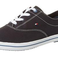 Por sólo 31,78 euros podemos hacernos con estas zapatillas de lona para mujer Tommy Hilfiger en Amazon. Envío gratis