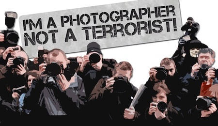 I'm a Photographer not a terrorist, o cómo los fotógrafos ingleses crean una campaña en su defensa