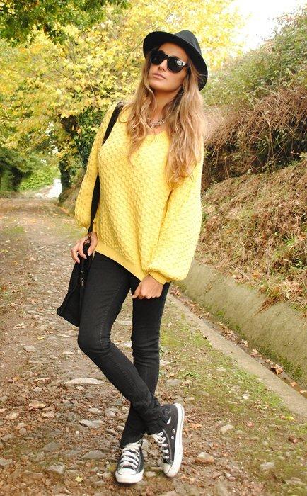 Amarillo Moda en la calle