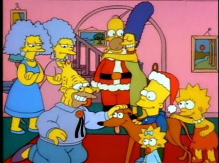 Simpsons Christmas 7