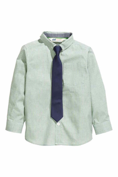 Camisa Y Corbata Rebajas Ninos