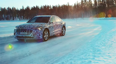 Audi e-tron Sportback 2019, en vídeo