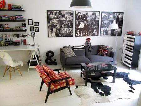 Estilo ecléctico y muchos contrastes en los apartamentos ganadores del concurso de Apartment Therapy