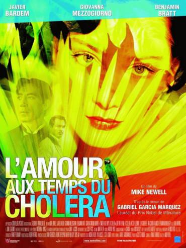Nuevo y colorido póster de 'Love in the Time of Cholera' ('El Amor en los Tiempos del Cólera')