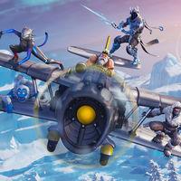 La Temporada 7 de Fortnite ya está aquí con nieve, hielo... ¡y aviones!