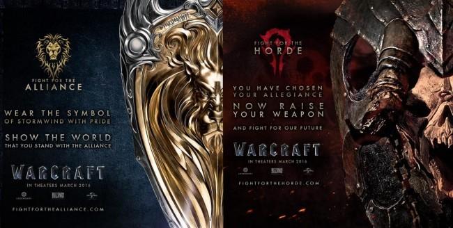 Arte promocional de la película de Warcraft
