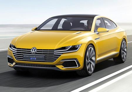 Volkswagen Sport Coupe Gte Concept 5