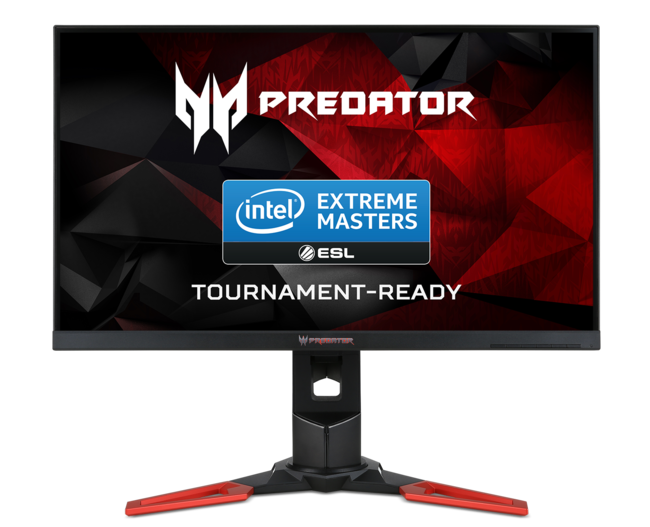 Predator XB271HU Tournament-Ready Monitor Intel Extreme Masters Season 11