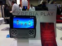 Xperia Play (PSP Phone). Primer contacto, vídeo y fotos [GDC 2011]