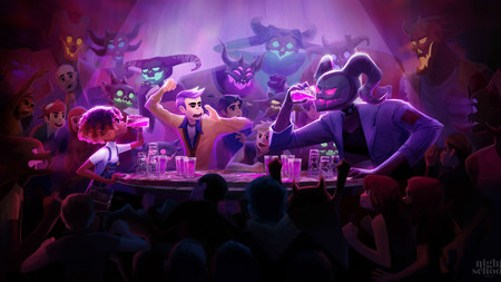 Adéntrate en las fiestas del Infierno con Afterparty, lo nuevo de los creadores de Oxenfree que saldrá el mes que viene