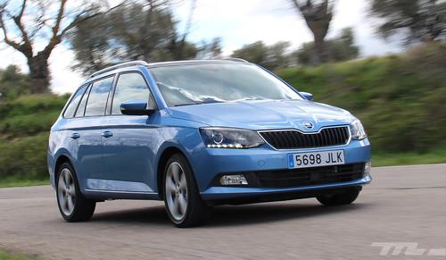¿Utilitario y capaz? Lo comprobamos con el Škoda Fabia Combi (parte 1)