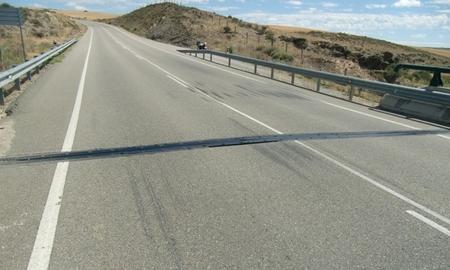 Carretera hundidad
