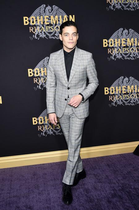 Rami Malek Vuelve A Triunfar En Blanco Y Negro Para Su Look En Promocion De Bohemian Rhapsody 2