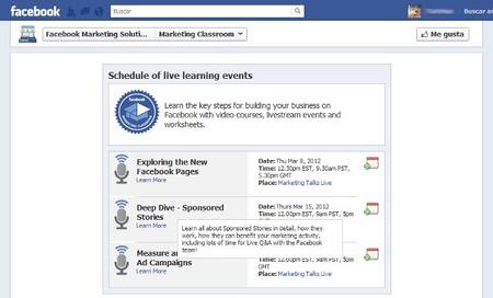 Facebook facilita el cambio al nuevo Timeline a  las empresas con formación