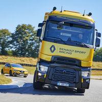 El Renault T High RS Racing Edition es un camión con alma de Mégane R.S. porque... ¿por qué no?