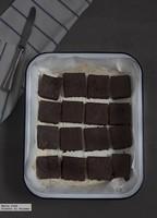 Brownie de boniato y dátiles. Receta