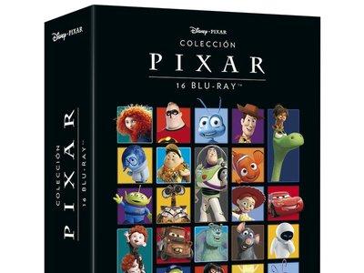 Oferta Flash: Colección Pixar, con 16 películas infantiles en Blu-ray, ahora por 69,99 euros y envío gratis