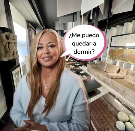 Belén Esteban enseña la impresionante mansión de Raúl Prieto (director de 'Viva la Vida') y Joaquín Torres