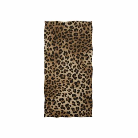 toalla leopardo playa
