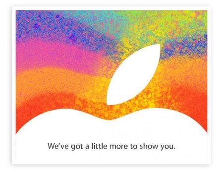 Apple envía las invitaciones para un evento de presentación el 23 de octubre. Es oficial, tendremos iPad mini
