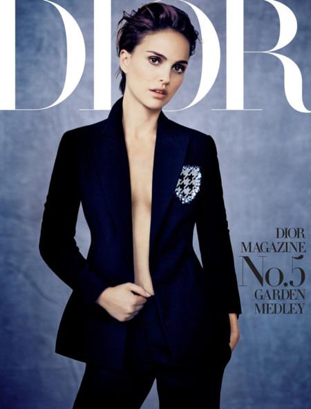 Natalie Portman portada Dior magazine número 5 por Paolo Roversi