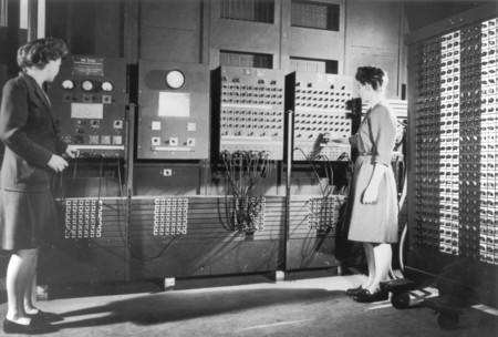Two Women Operating Eniac Full Resolution