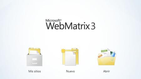WebMatrix 3, el conjunto de herramientas gratuitas para la web de Microsoft se actualiza